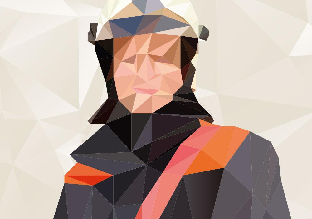 Illustration Feuerwehrmann