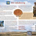 Jakobsweg Infotafel 1