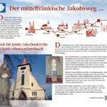 Jakobsweg Infotafel 4