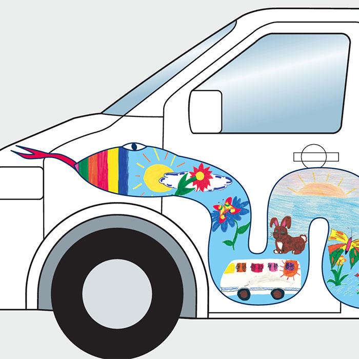 Layout Fahrzeugdesign