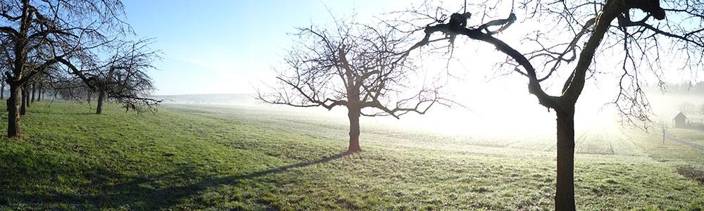 aufklarender Nebel