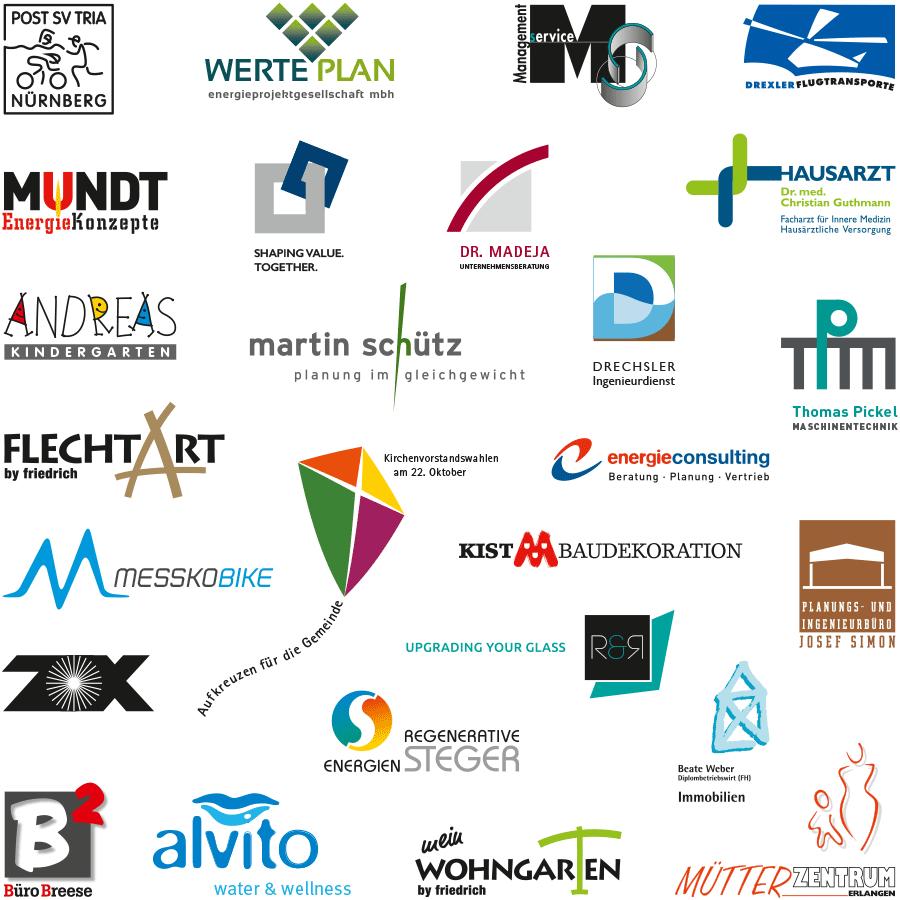 Logodesigns des DESIGNBÜRO