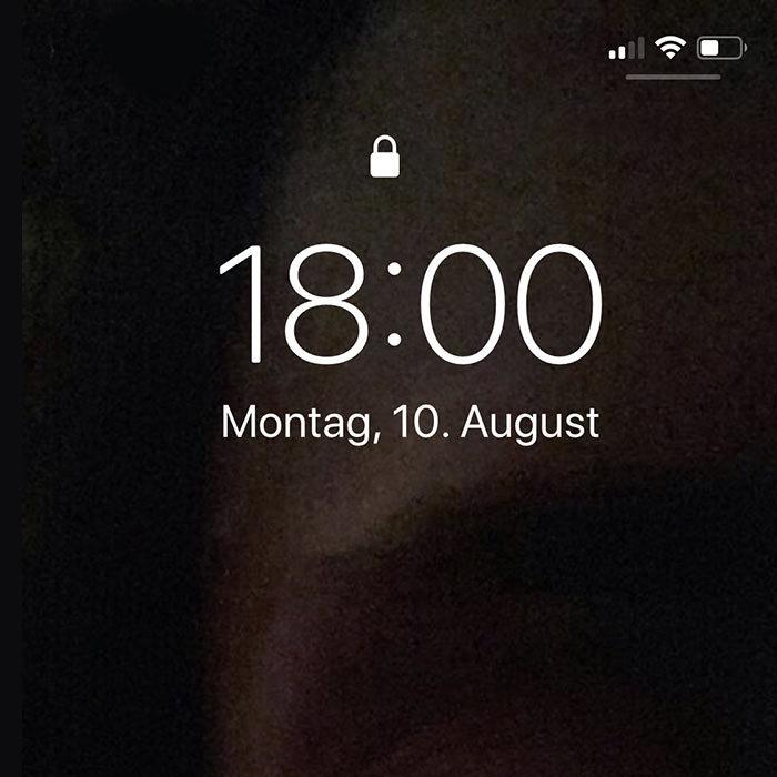 iPhone Bildschirm gesperrt